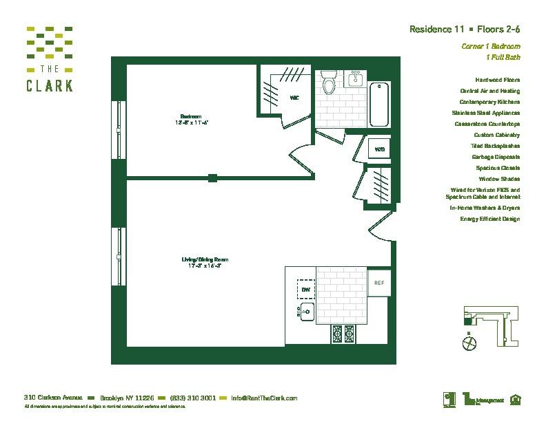 #611 Floor Plan