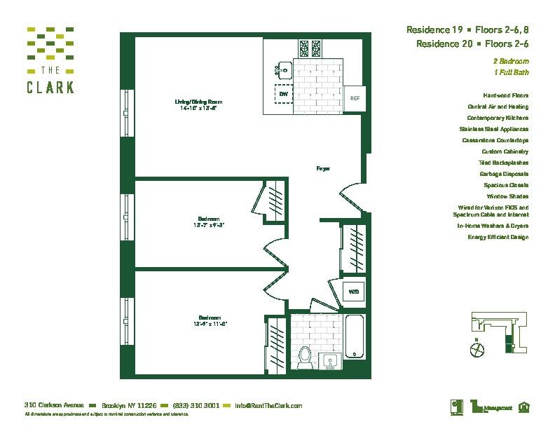 #220 Floor Plan