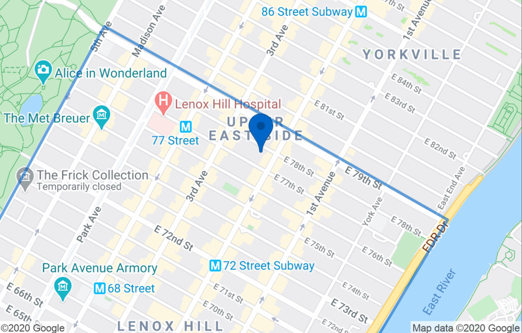 258 East 78th Street Upper East Side New York NY 10075
